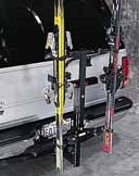 Ski Hitch Rack and Carrier